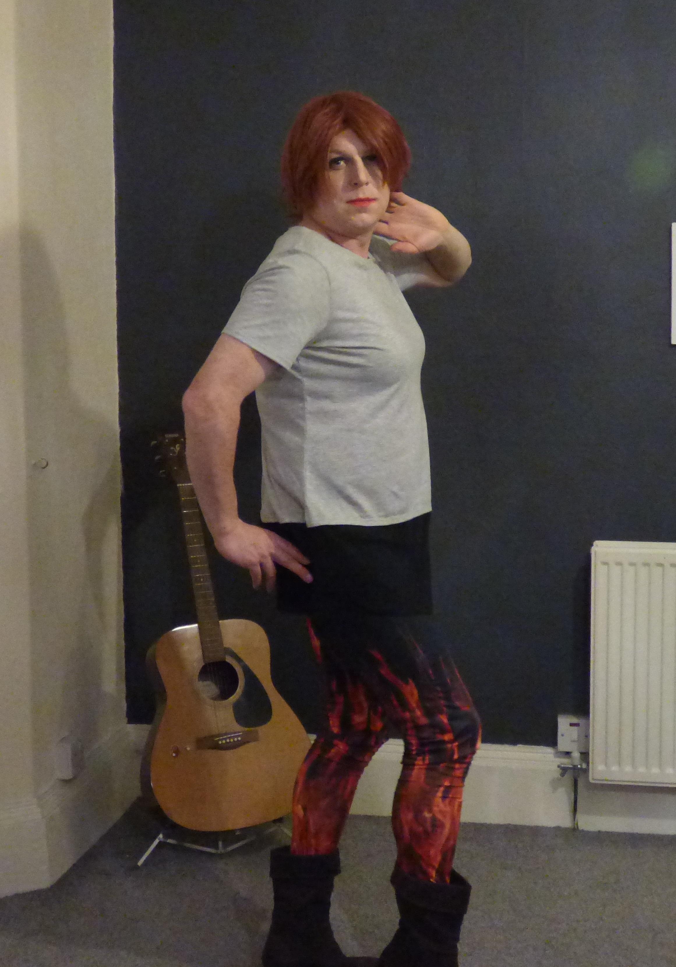 burlesque pose 1